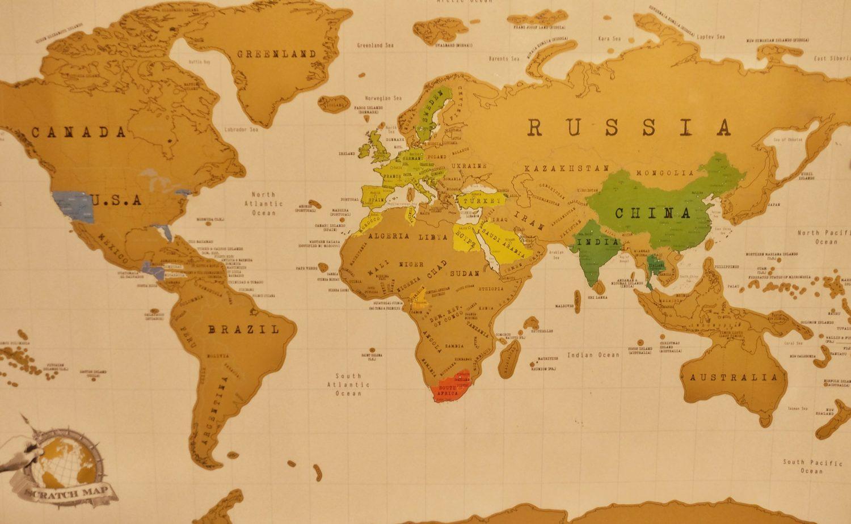 my scratch map